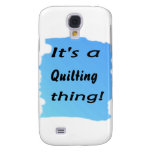 It's a quilting thing! samsung galaxy s4 case