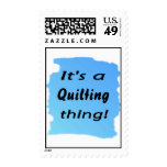 It's a quilting thing! stamp