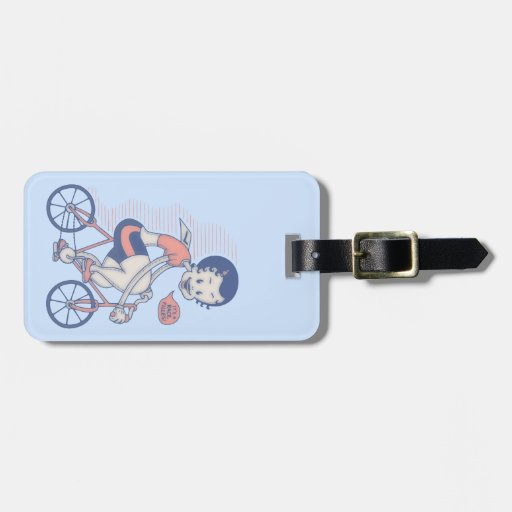 It's a race, filles! luggage tags