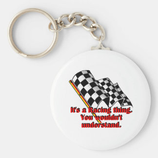 It's a racing thing keychain