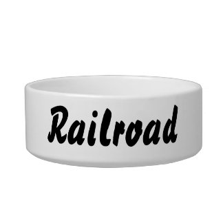 It's a railroad thing! bowl