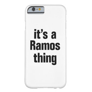 its a ramos thing barely there iPhone 6 case