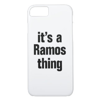 its a ramos thing iPhone 7 case
