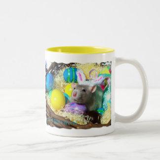 It's A Rat's World Easter mug