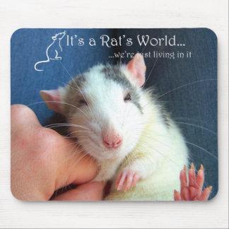It's A Rat's World Mouse Pad