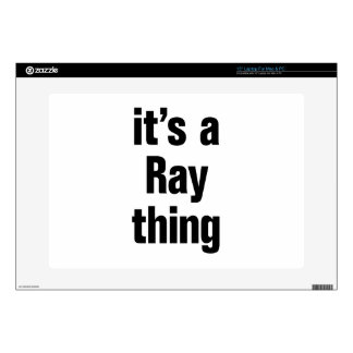 """its a ray thing 15"""" laptop skins"""