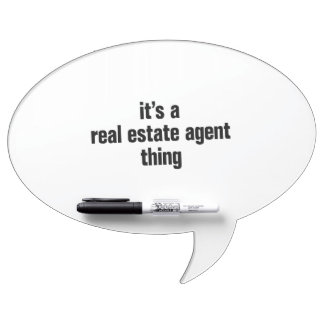 its a real estate agent thing Dry-Erase whiteboards