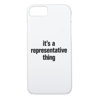 its a representative thing iPhone 8/7 case