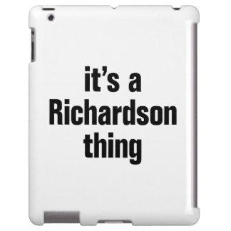 its a richardson thing