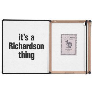 its a richardson thing iPad folio cases