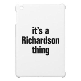 its a richardson thing iPad mini covers