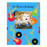 It's a Rock star party time invitation!