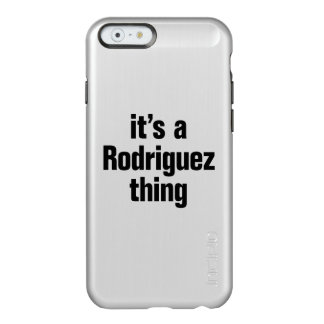it's a rodriguez thing incipio feather® shine iPhone 6 case