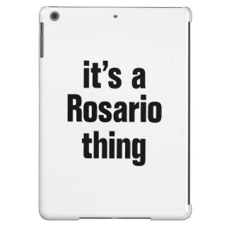 its a rosario thing iPad air cover