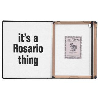 its a rosario thing iPad folio case