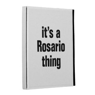 its a rosario thing iPad case