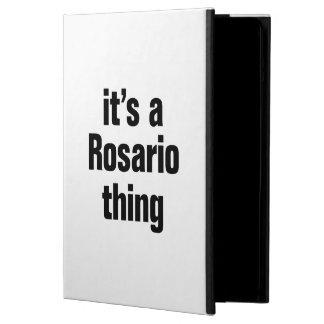 its a rosario thing iPad air case
