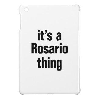 its a rosario thing iPad mini cases