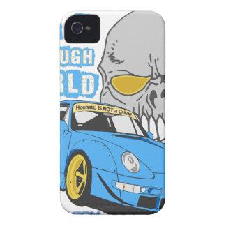 It's a rough world iPhone 4 case