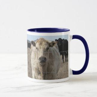 It's a Roundup! Black & White Cow Herd - Charolais Mug