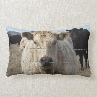 It's a Roundup!  Cattle Herd Western Rural Scene Pillow