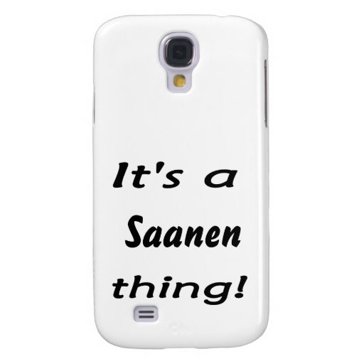 It's a Saanen thing! Samsung Galaxy S4 Covers