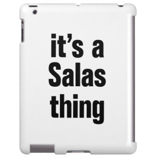 its a salas thing