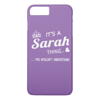 It's a Sarah thing iPhone 7 Plus Case