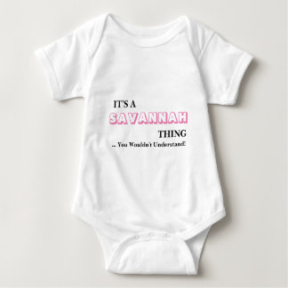 It's A SAVANNAH Thing! Shirt