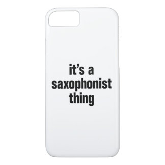 its a saxophonist thing.ai iPhone 7 case