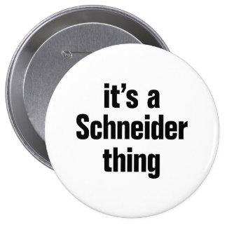 its a schneider thing 4 inch round button
