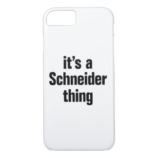 its a schneider thing iPhone 8/7 case
