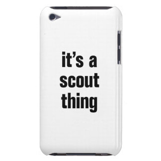 its a scout thing barely there iPod cases