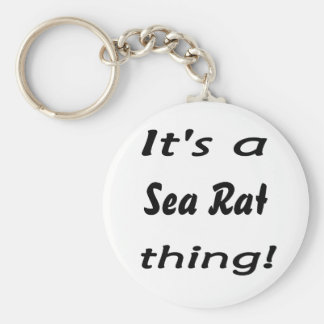 It's a  sea rat thing! basic round button keychain