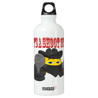 Its A Shoot Out SIGG Traveler 0.6L Water Bottle