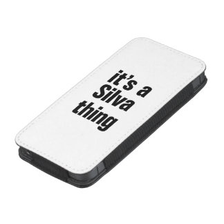 its a silva thing iPhone 5 pouch