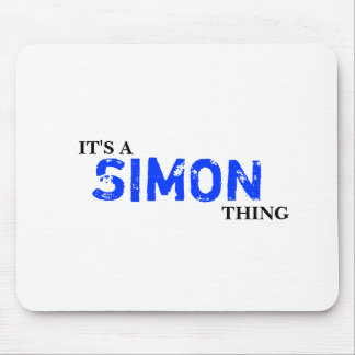 It's A SIMON Thing! You Wouldn't Understand Mouse Pad