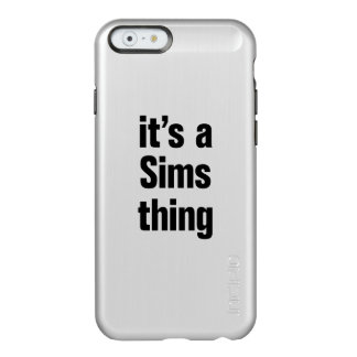 its a sims thing incipio feather® shine iPhone 6 case