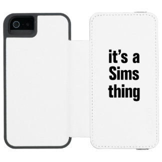 its a sims thing incipio watson™ iPhone 5 wallet case