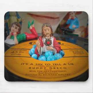 It's A Sin To Tell A Lie Mousepad