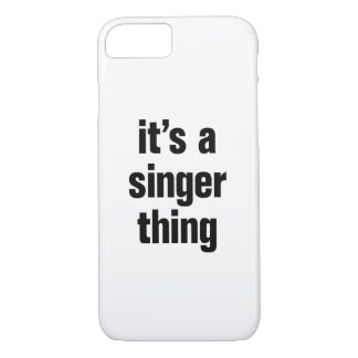 its a singer thing iPhone 8/7 case