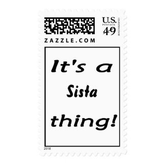 It's a Sista thing! Postage Stamps