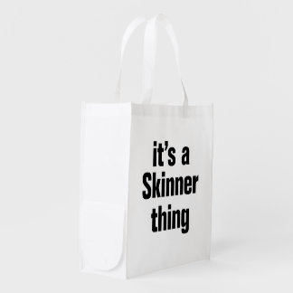 its a skinner thing reusable grocery bags