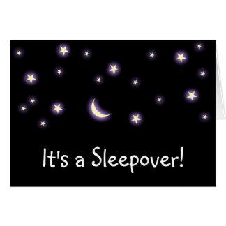 It's a Sleepover! card