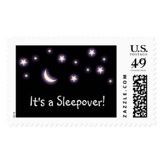 It's a Sleepover! stamp