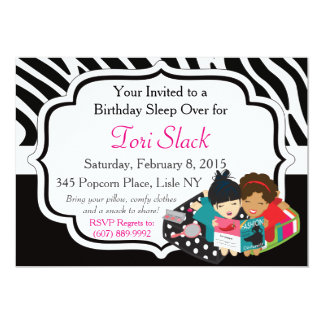 It's a Slumber Party! Card
