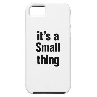 its a small thing iPhone 5 covers