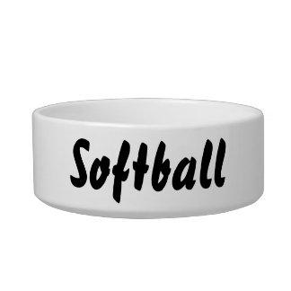 Its a softball thing! bowl