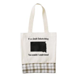 It's A South Dakota Thing Zazzle HEART Tote Bag