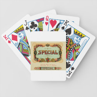 Its a special day, so slow down and enjoy it bicycle playing cards